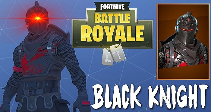 Black Knight Skin in Fortnite Battle Royale