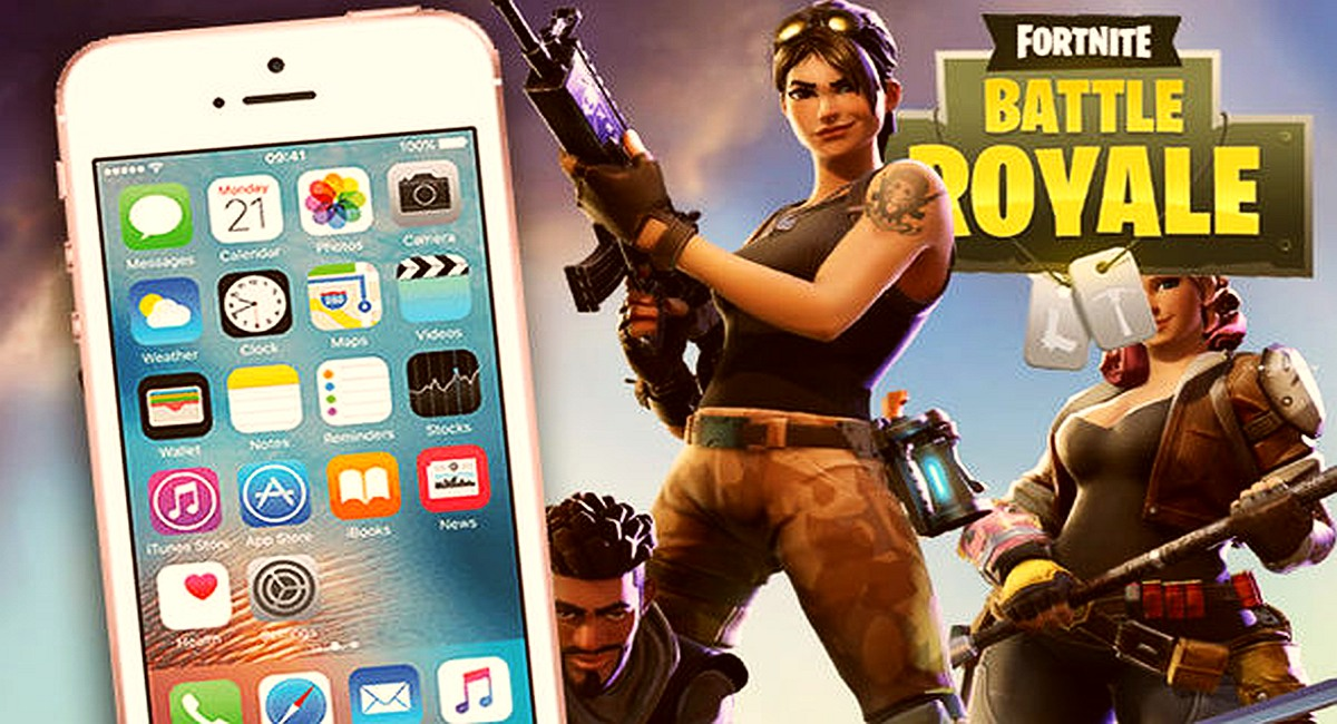 Download Fortnite for iPhone