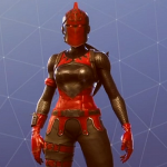 The Red Knight Skin in Fortnite Battle Royale