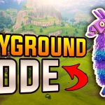 The Return of Fortnite Playground Mode in the Update v5.10
