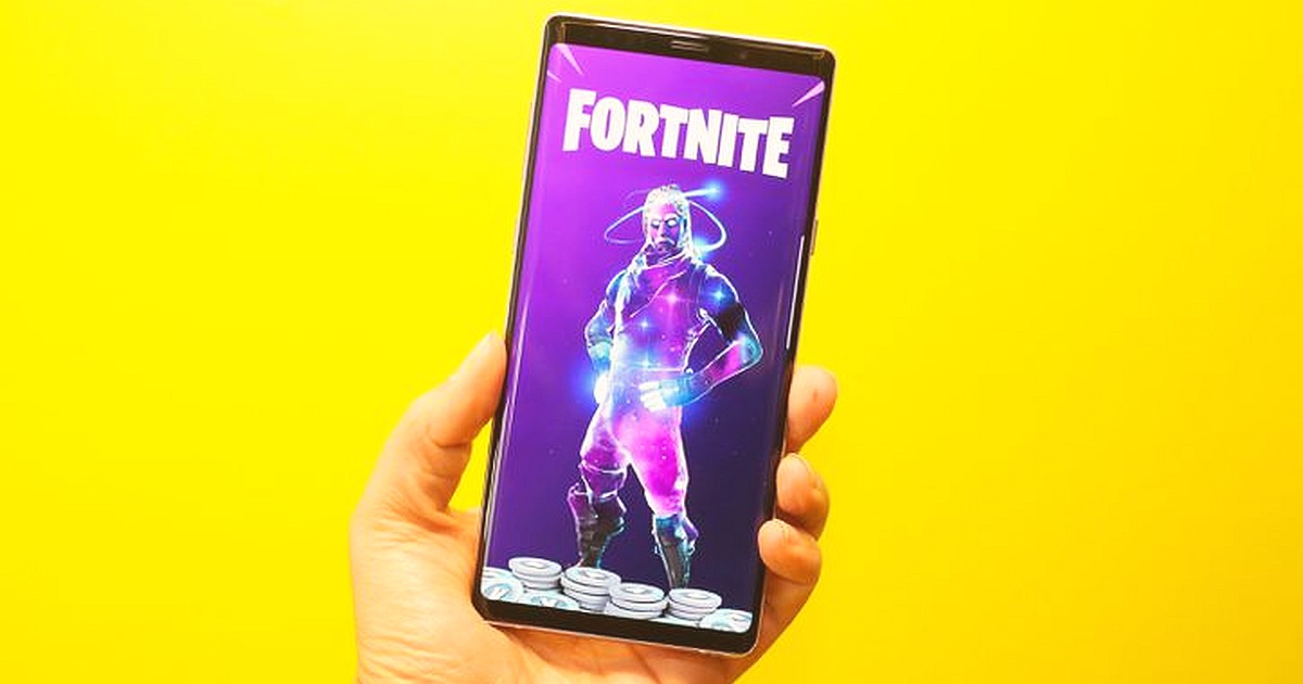 Android Version of Fortnite for Samsung Note and Galaxy Series